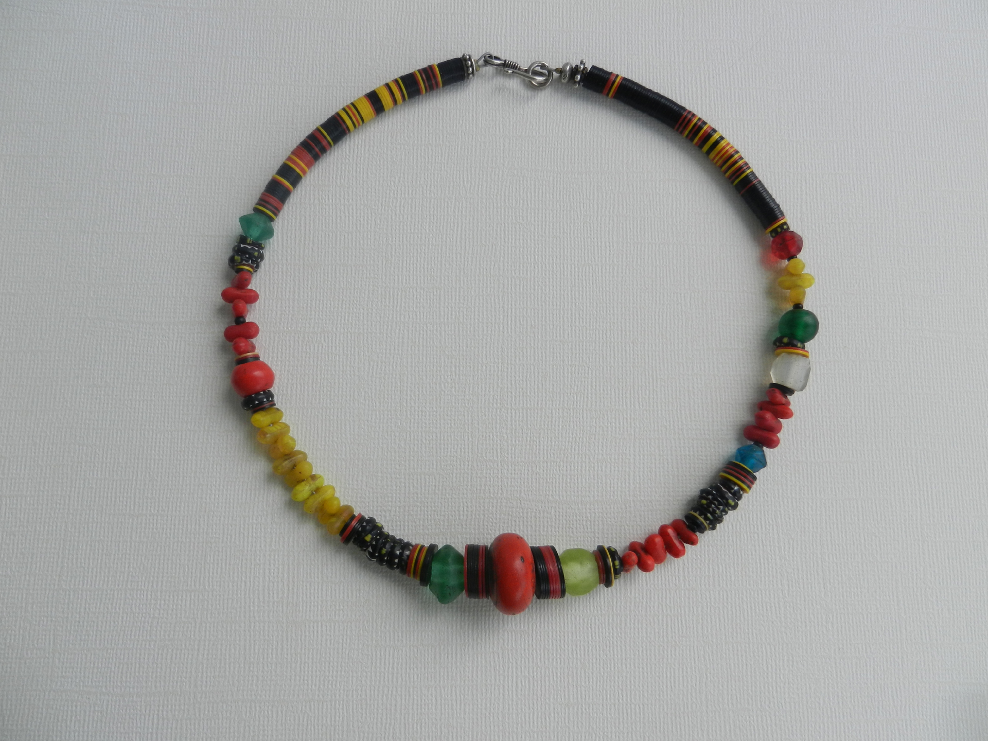 necklace-featuring-african-trade-beads-origination-from-bohemia-and-venice